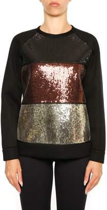 N°21 N.21 Sweatshirt With Sequins