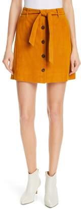 Joie Neida Suede Miniskirt