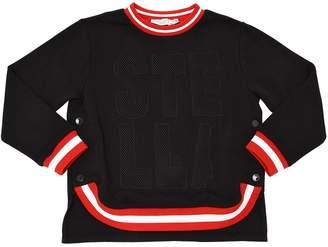 Stella McCartney Organic Cotton Sweatshirt W/ Stripe Trim