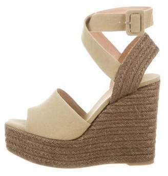 Castaner Canvas Espadrille Wedges w/ Tags