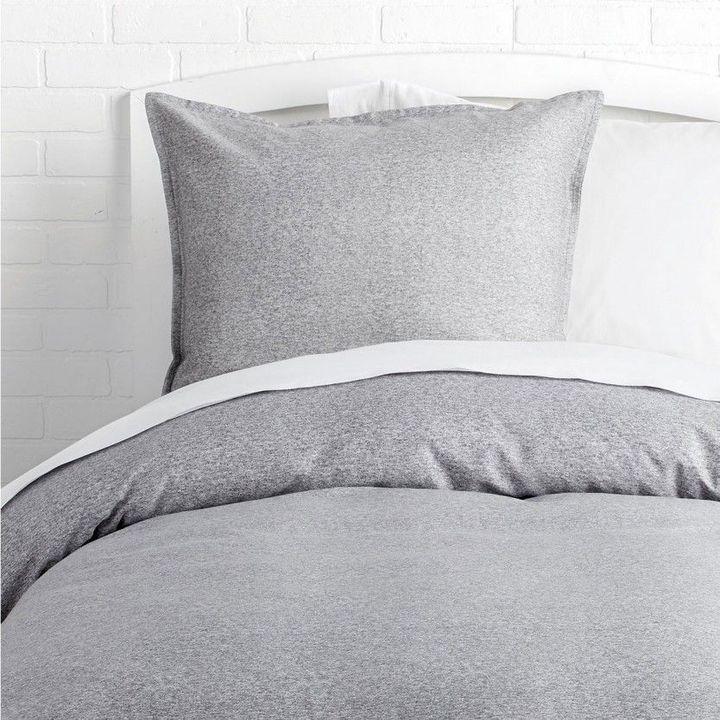 Dormify Perfect Grey Duvet Cover and Sham Set
