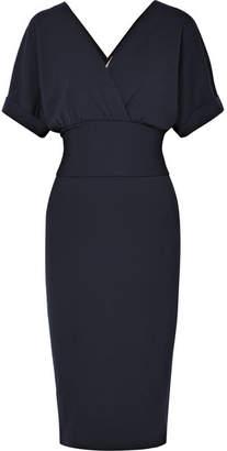Brunello Cucinelli Wrap-effect Stretch-wool Dress