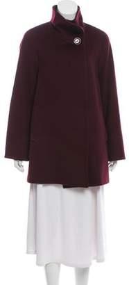 Cinzia Rocca Button-Up Virgin Wool Jacket