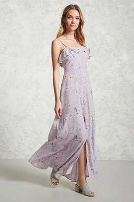 FOREVER 21+ Floral Maxi Dress $27.90 thestylecure.com