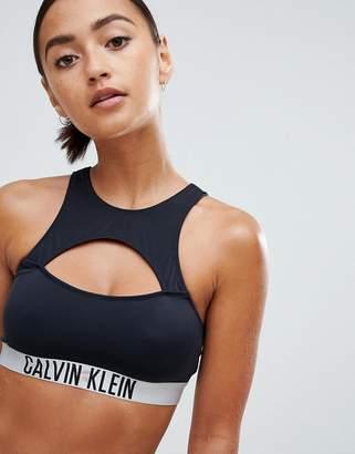 Calvin Klein (カルバン クライン) - Calvin Klein Racer Bralette Bikini Top