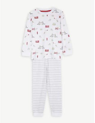 The Little White Company London print pyjamas 1-6 years