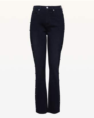 Juicy Couture Studded Denim Skinny Jean