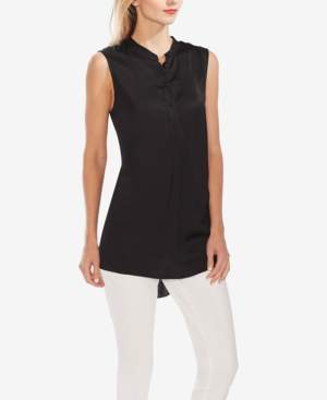 Vince Camuto High-Low Sleeveless Shirt