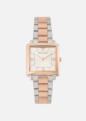 Emporio Armani Quartz Watch In Stainless Steel