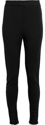 Altuzarra Lace Up-Detailed Stretch-Knit Skinny Pants