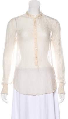 Shirt by Shirt Silk Long Sleeve Blouse