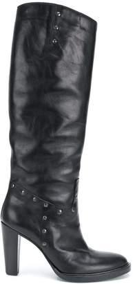 747ff4ac0 A.F.Vandevorst knee-high heeled boots