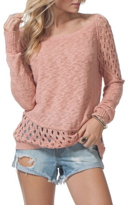 Women's Rip Curl Moonshine Cotton Pullover $59.50 thestylecure.com