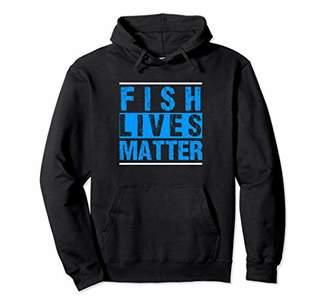 Fish Lives Matter Saltwater Aquarium Hoodie Reef Aquarist