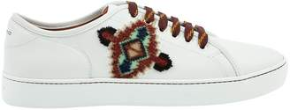 Etro White Leather Trainers