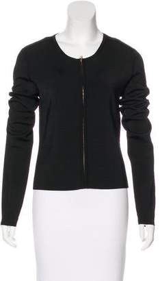 Jason Wu Knit Zip-Up Cardigan