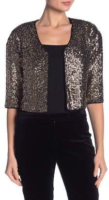 Milly Sequin Bolero Jacket