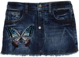 Philipp Plein Denim skirts