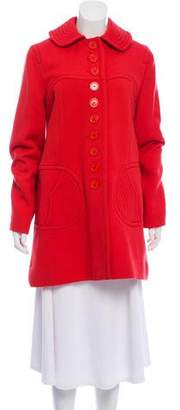 Marc by Marc Jacobs Wool Knee-Length Coat w/ Tags