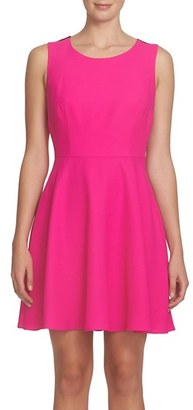 Women's Cece Madison Bow Back Fit & Flare Dress $148 thestylecure.com
