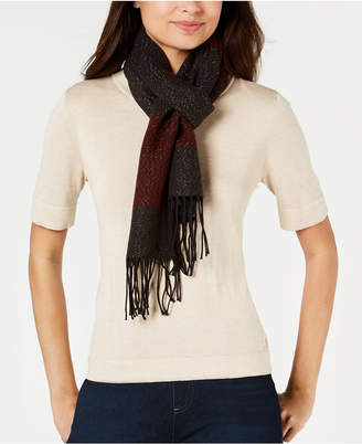 Cejon Striped Soft Knit Scarf