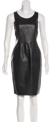 Emporio Armani Sleeveless Knee-Length Dress