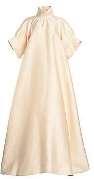 The Row Women's Alba Silk Trapeze Gown