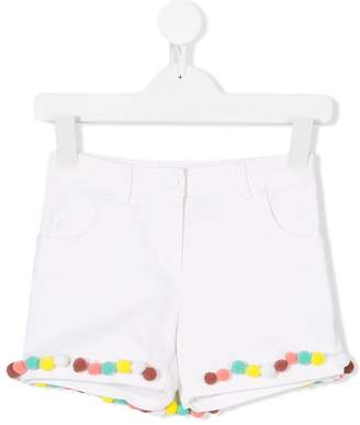 Christian Dior pompom-embellished shorts