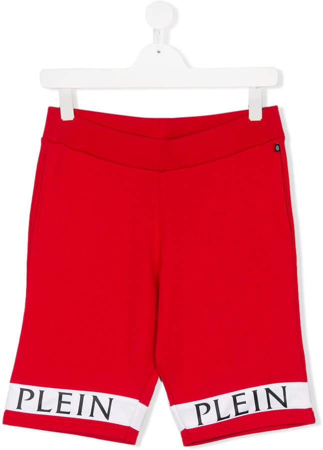 Philipp Plein Junior TEEN Break Your Heart track shorts