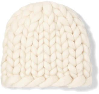 Siggy Wool Beanie - Ivory