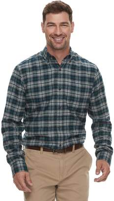 Croft & Barrow Men's Slim-Fit Flannel Button-Down Shirt