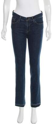Tome Mid-Rise Straight-Leg Jeans w/ Tags