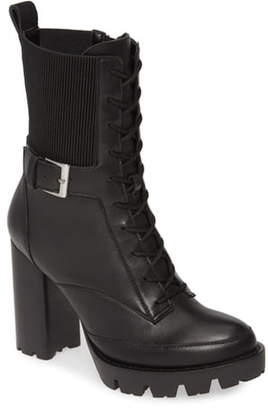Charles David Govern Lace-Up Platform Boot