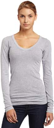 LAmade Womens Fitted V-Neck Tunic