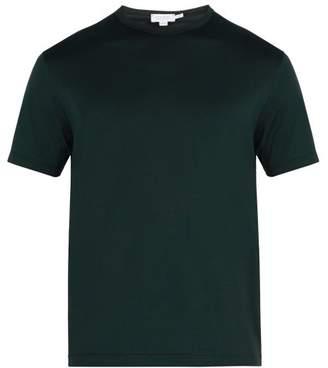 Sunspel Cotton T Shirt - Mens - Green