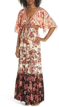 HEMANT AND NANDITA Hemant & Nandita Cover-Up Maxi Dress