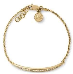 Michael Kors Matchstick Pave Chain Bracelet
