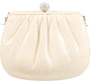 Judith Leiber Embossed Leather Clutch $130 thestylecure.com