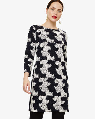 Phase Eight Frangelica Floral Jacquard Dress
