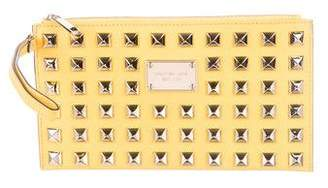 MICHAEL Michael Kors Studded Leather Clutch
