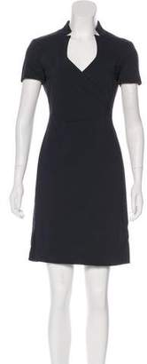 Armani Collezioni Mini Wool Dress