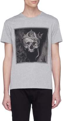 Alexander McQueen Crown skull print T-shirt