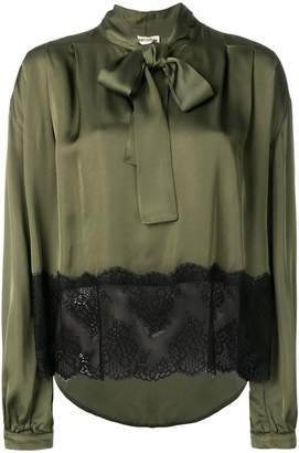 Semi-Couture Semicouture pussy bow blouse
