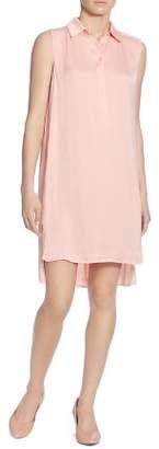 Catherine Malandrino Stella Sleeveless High/Low Shirt Dress
