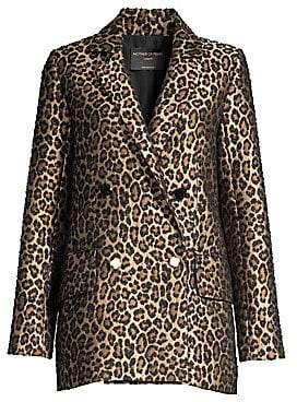 Mother of Pearl Women's Francs Leopard Print Jacquard Jacket