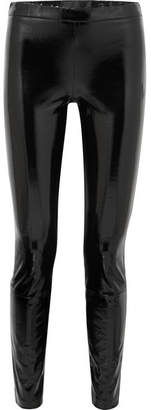 Haider Ackermann Patent-leather Leggings - Black
