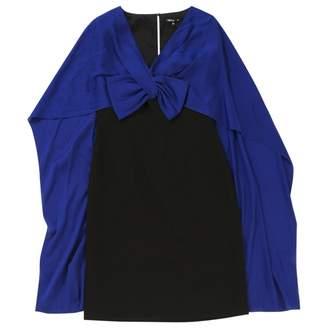 Paule Ka Black Polyester Dresses