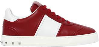 Valentino 20mm Flycrew Leather Sneakers