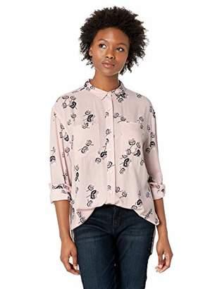 Pendleton Women's Petite Long Sleeve Thistle Button-Up Shirt