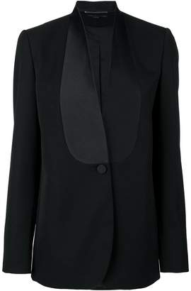 Stella McCartney silk bib blazer